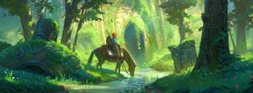 Video Game The Legend of Zelda Breath of The Wild Facebook cover photo