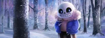 Video Game Undertale Sans Facebook Cover-ups