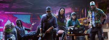 Video Game Watch Dogs 2 Facebook Wall Image