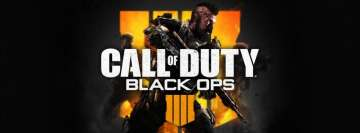 Video Games Call of Duty Black Ops 4 Facebook cover photo