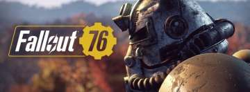 Video Games Fallout 76 Facebook cover photo