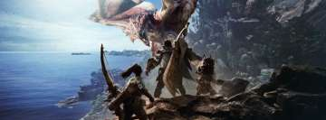 Video Games Monster Hunter Facebook cover photo