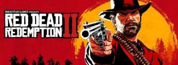 Video Games Red Dead Redemption 2 Facebook cover photo