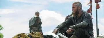 Vikings Ragnar After Battle Facebook Cover