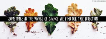 Waves of Change Facebook Cover