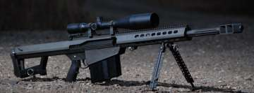 Weapons Sniper Rifle Facebook Cover Photo