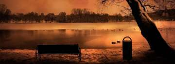 Winter at Lake Fb Cover