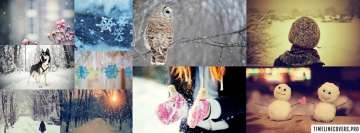 Winter Collage Facebook Banner
