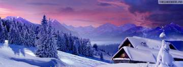 Winter Huts Facebook Wall Image