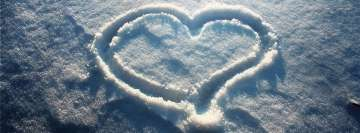 Winter Love2 Facebook Wall Image