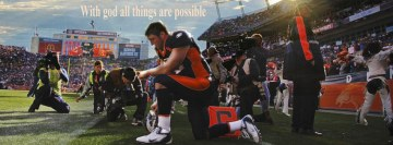 With God All The Things are Possible Tebow Facebook Cover