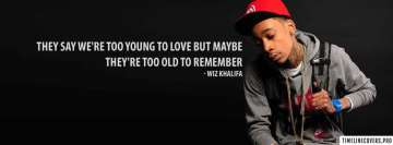 Wiz Khalifa Lyrics Facebook cover photo