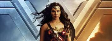 Wonder Woman Standing Still Facebook cover photo