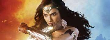 Wonder Woman Strong As Fresh Bread Facebook cover photo