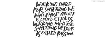 Work for Passion