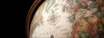 World Map Facebook Banner