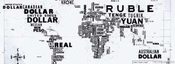 World Map of Money Facebook Cover