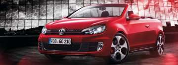 Ww GTI Cabriolet Facebook cover photo