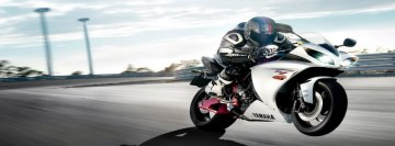 Yamaha Racer Facebook Cover