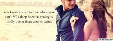 You are in Love Reality Better