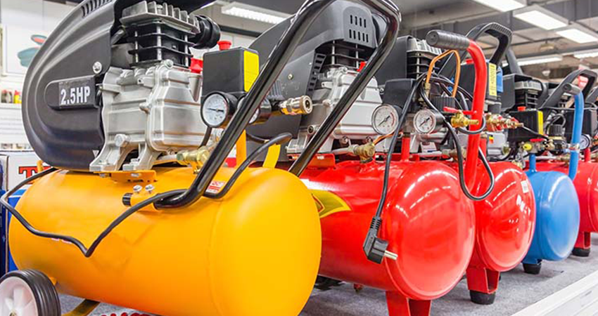 How does an air compressor work?