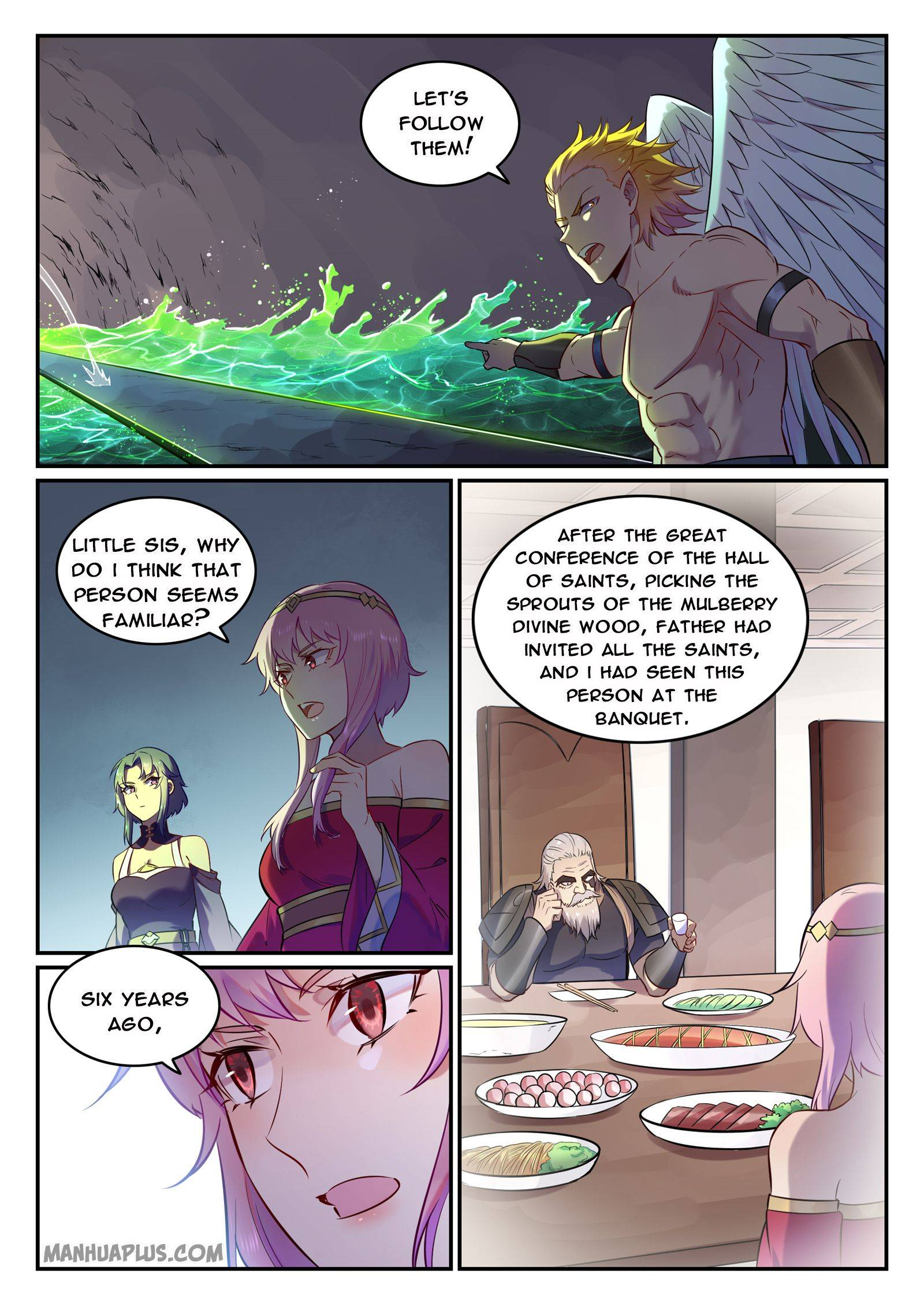 Read Apotheosis - Elevation To The Status Of A God Chapter 763