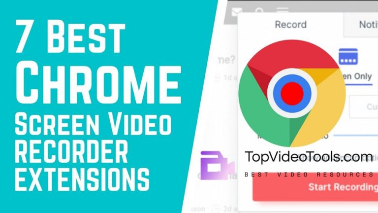 5 Best Screen Video Recorder Chrome Extensions