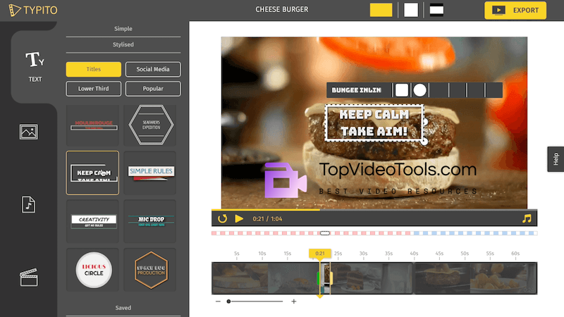 Typito Online Video Editing Tool Top Video Tools