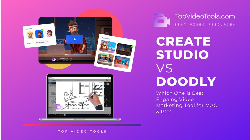 Doodly vs CreateStudio | Best Engaging Video Tool