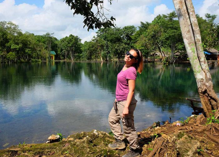 Felicia Lasmana Travel Bloggers Indonesia