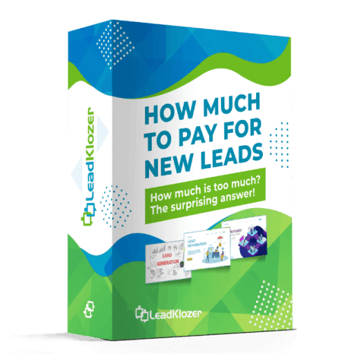 How Much Should You Pay For Your Leads