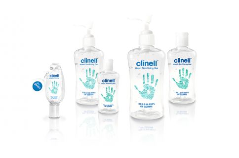 Clinell Hand Sanitising Gels Out Of Stock