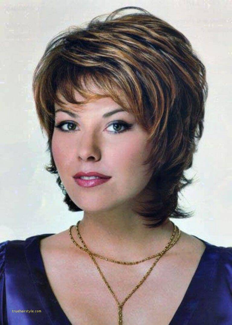 lovely best short layered hair for over 50