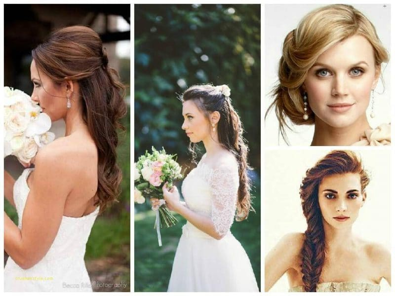 lovely hairstyle tips for brides
