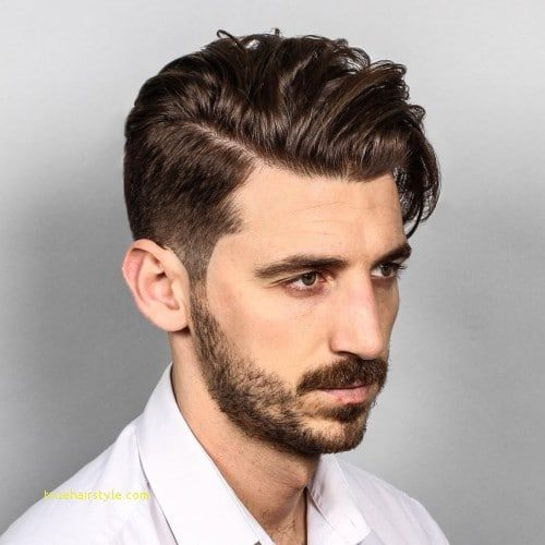 awesome perfect men short comb over hairstyles