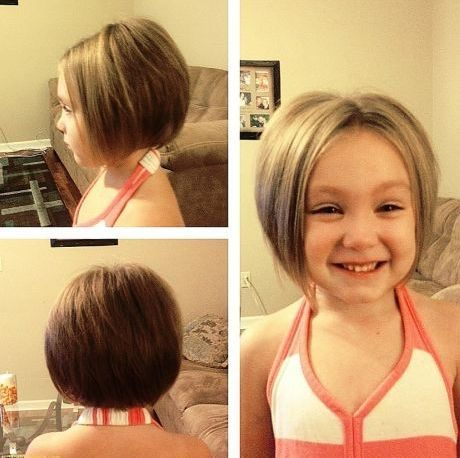 new new hairstyle for short hair girl
