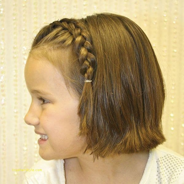 unique new hairstyle for short hair girl 1