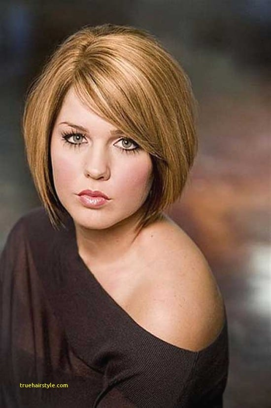 beautiful hairstyles for round faces short hair in this year