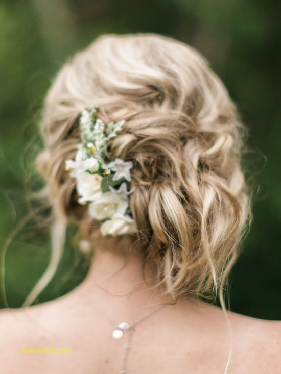 inspirational french braided wedding updo for bridesmaids 1
