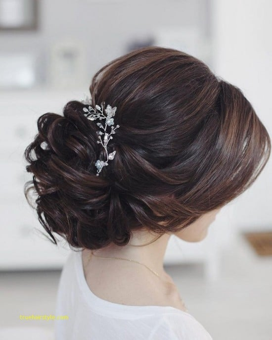 inspirational french braided wedding updo for bridesmaids