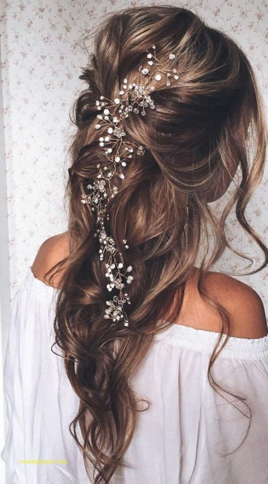 lovely french braided wedding updo for bridesmaids