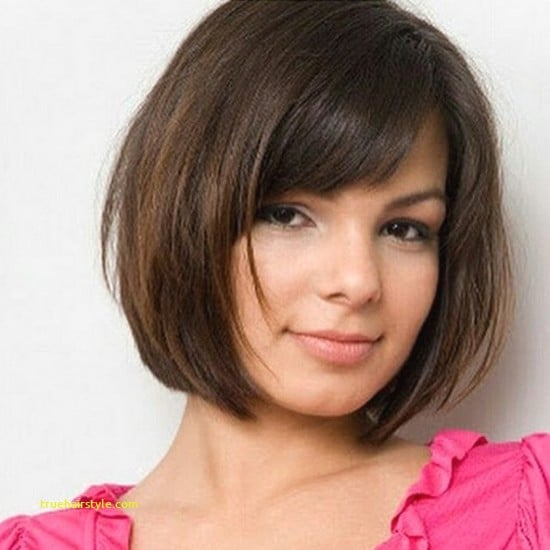 luxury hairstyles for round faces short hair in this year 1