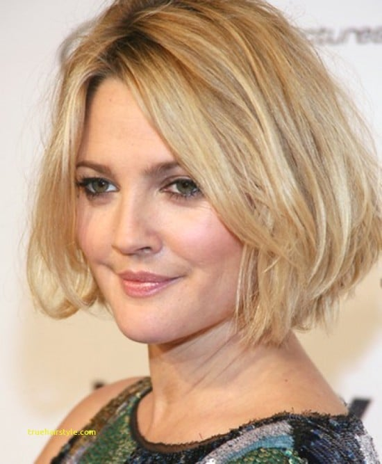 new hairstyles for round faces short hair of all time