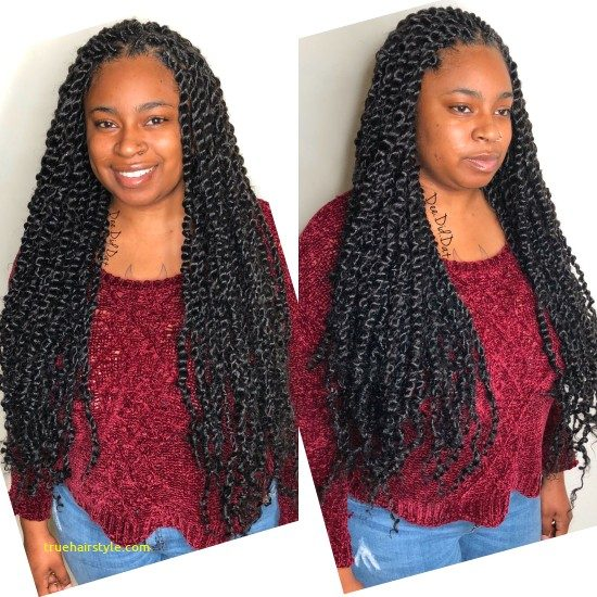 awesome passion twists hairstyle in this year