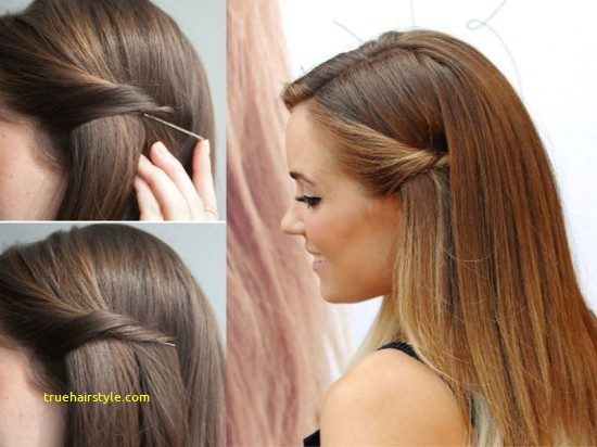 elegant bobby pin hairstyle in this year 2
