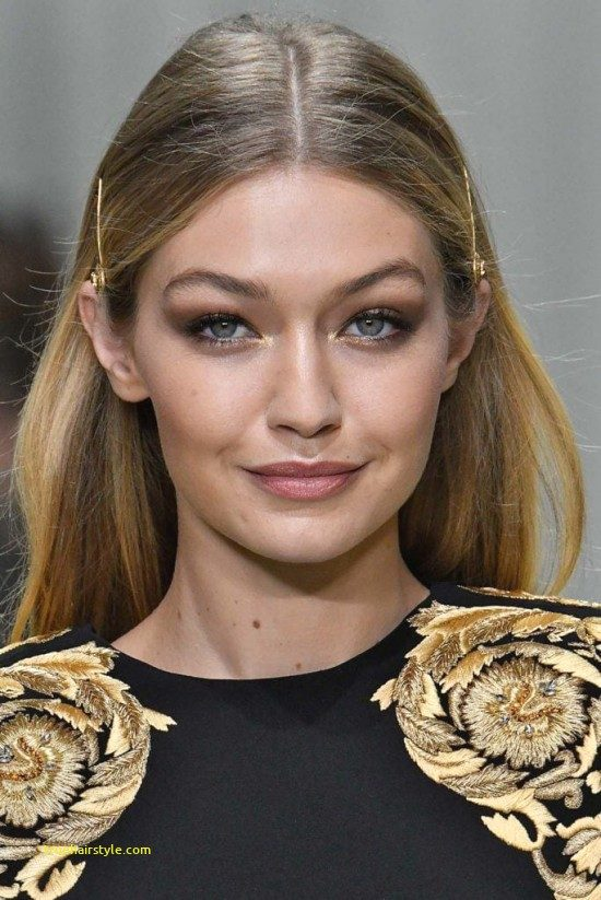 elegant bobby pin hairstyle in this year