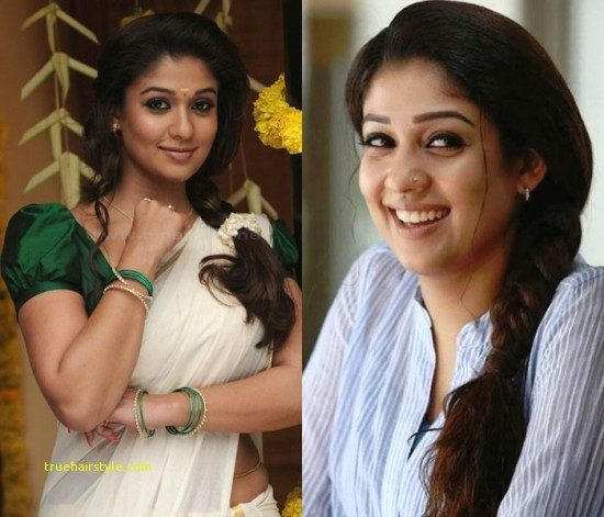elegant nayanthara hairstyle of all time