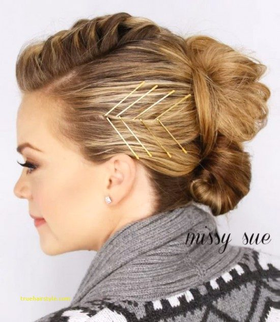 luxury bobby pin hairstyle of all time