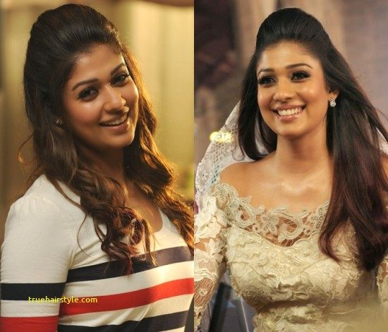 luxury nayanthara hairstyle of all time 1