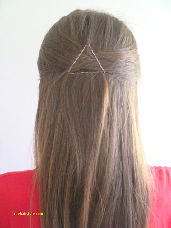 unique bobby pin hairstyle today